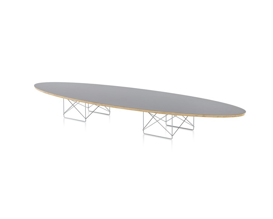 Eames Surfboard Coffee Table.Eames Wire Base Elliptical Table Workplace Resource Colorado